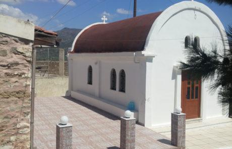 Στεγάνωση Εκκλησίας με Ασφαλτόπανο